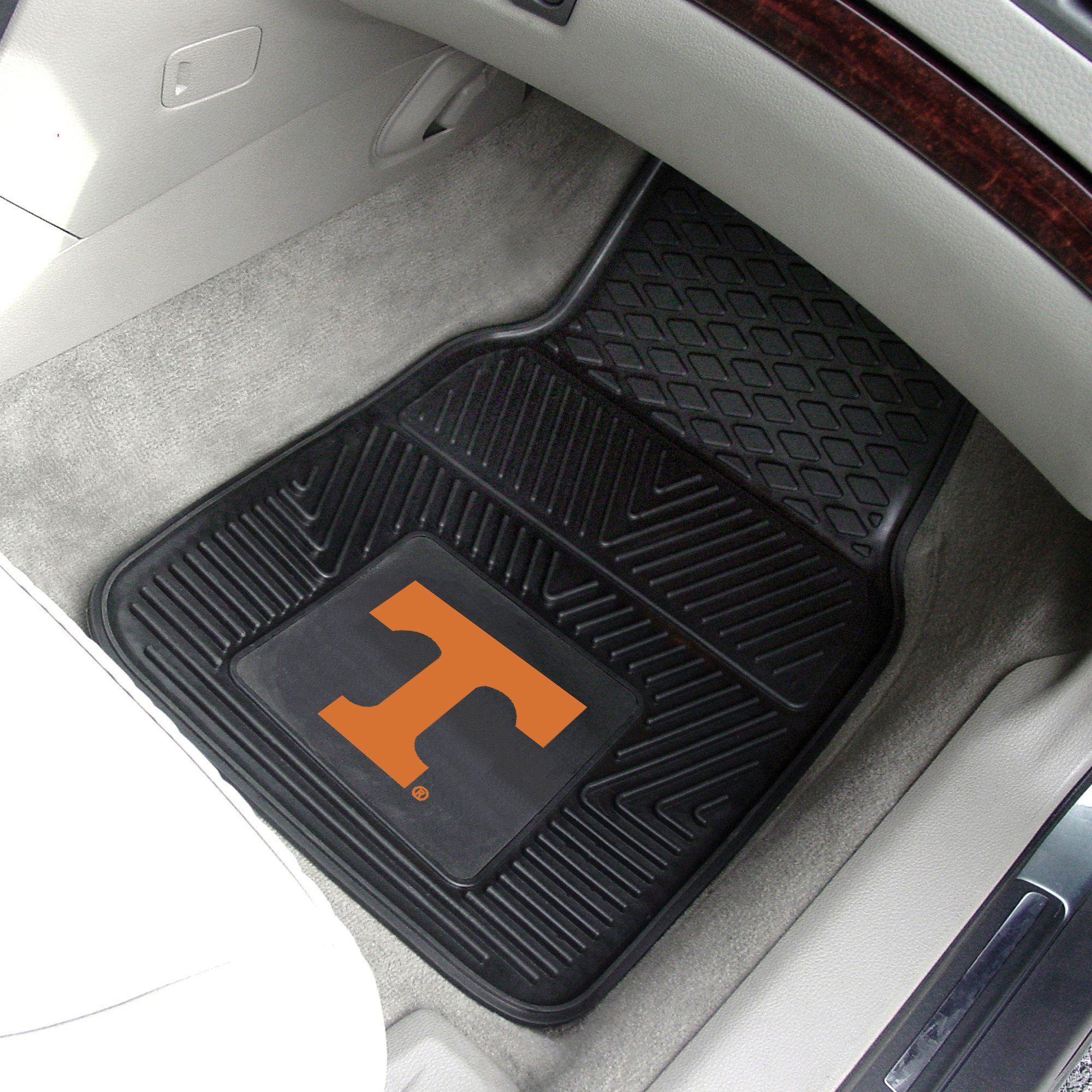 Tennessee Premium 2 Pc Vinyl Car Mats 17 X27 Car Mats Tennessee Car