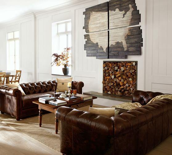 Planked Usa Panels Pottery Barn Living Room Designs Room Design Home
