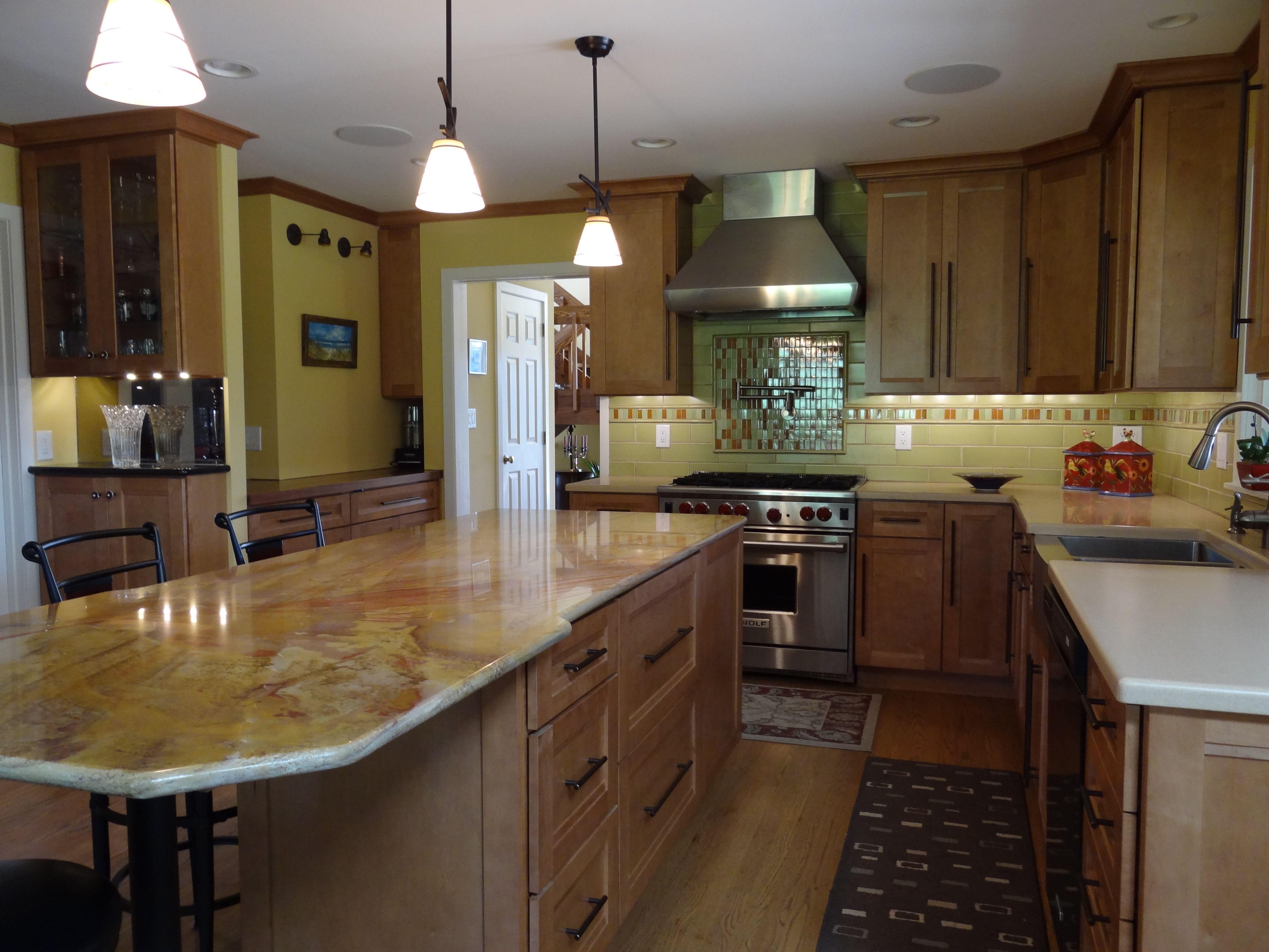 Kitchen Design Granite Simple Dramatic Granite For This Kitchen Renovation Kitchens 2018