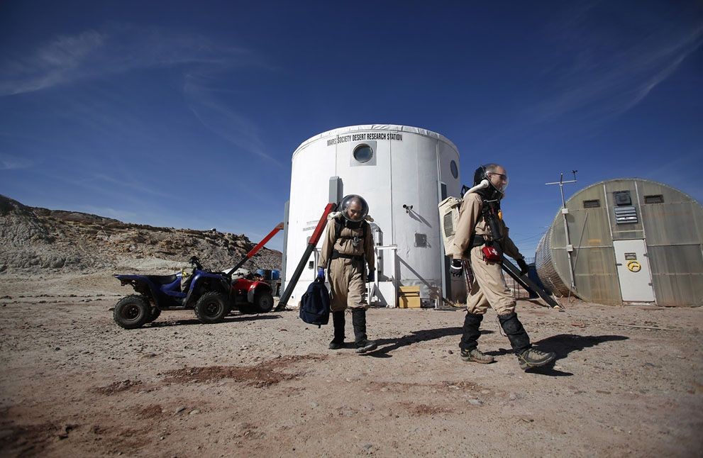 The Mars Desert Research Station - In Focus - The Atlantic