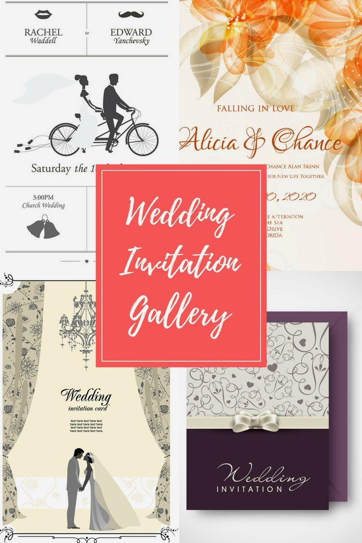 Fancy Aqua And Coral Wedding Invitations Collection - Invitations ...