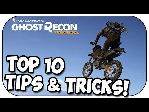 Ghost Recon Wildlands - TOP 10 TIPS AND TRICKS!  Top 10 Tips & Tricks for Ghost Recon Wildlands. This video contains both advanced and beginner must-know tips for Ghost Recon Wildlands. ►► SUBSCRIBE HERE: http://bit.ly/TeamSilent ◄◄ ● Follow me on Twitter! http://twitter.com/silentc0re Thanks for watching, have an awesome day! 😀 ●... Read more => https://goo.gl/yjpO5F