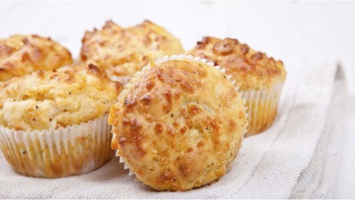 Food, Bacon Muffins, Cheese And