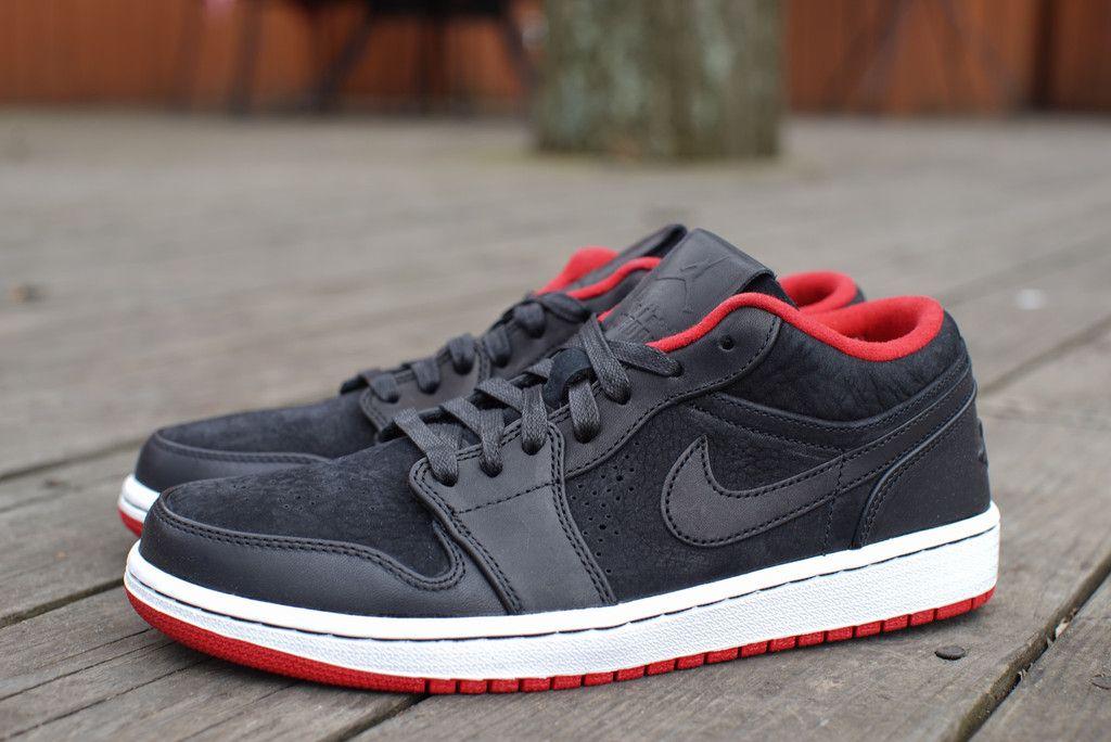 AIR JORDAN 1 LOW NOUVEAU · Jordan 1 LowRed SneakersBlack ...