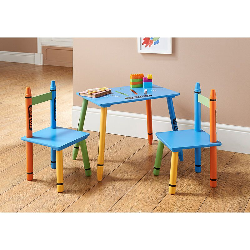 Crayon Table Chairs Kids Table And Chairs Toddler Chair Kid