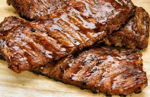 Portuguese Grilled Pork Ribs Recipe Yummly Recipe Pork Rib Recipes Pork Ribs Rib Recipes