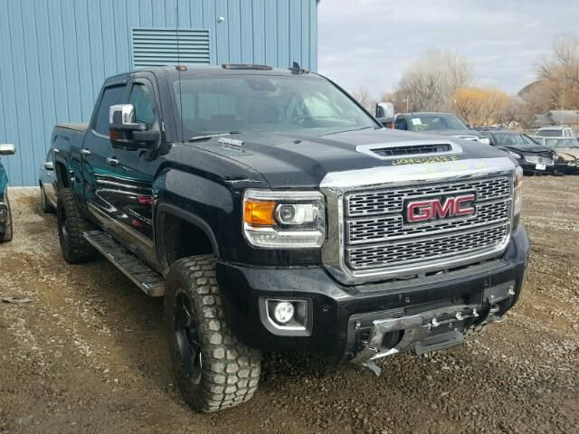 Salvage 2018 Gmc Sierra Denali Hd Chevy Trucks Gmc Trucks Trucks