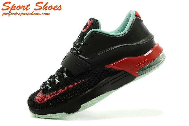 newest e65e4 d4b68 Kevin Durant 7(VII) Online Store Black Red Light Green Man Shoes