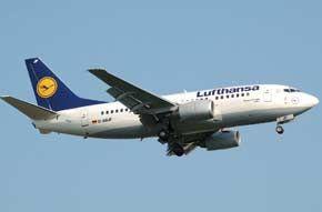 Lufthansa Hessisch, Reisen, Deutsche post