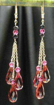 Starlite Jewelry Designs Briolette Earrings Beads Jewelry ideas