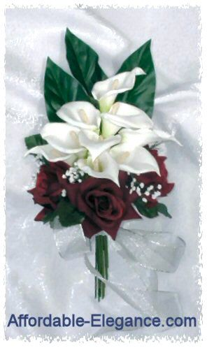 Burgundy And Champagne Wedding Colors Burgundy Wine Roses White