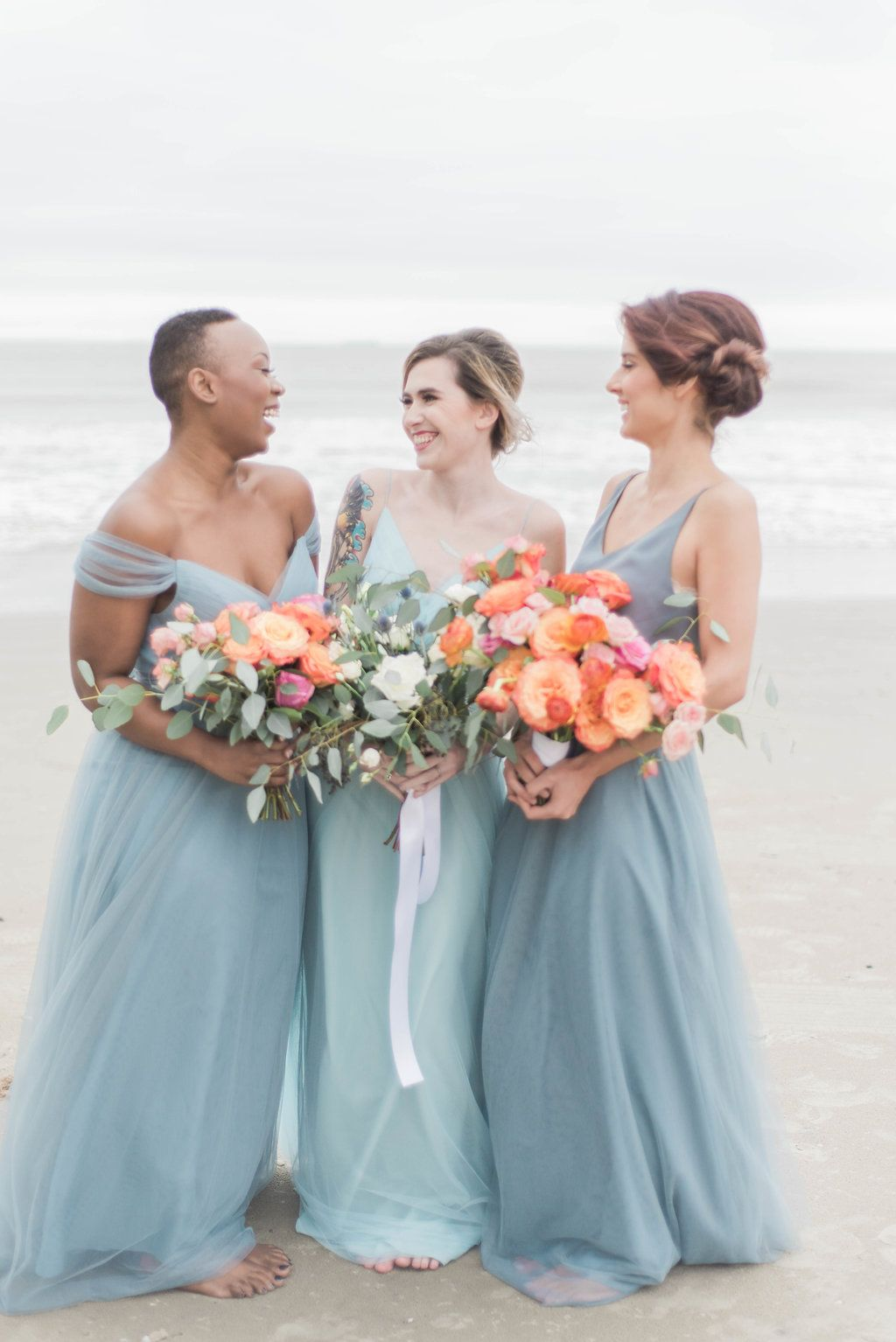Bridesmaid dress for beach wedding  Love Tanya Bridesmaid Dresses at a gorgeous beach wedding
