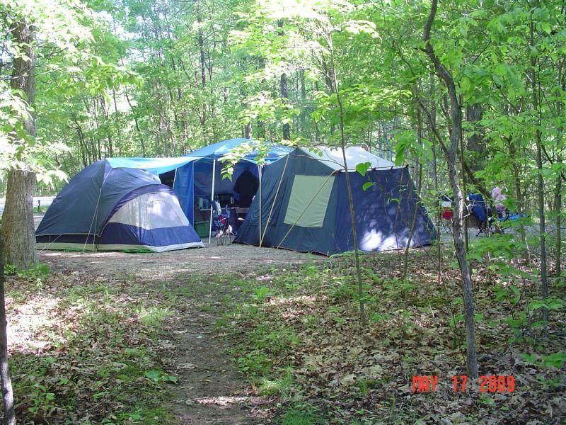 Hardin Ridge Recreation Campground Located In Indiana