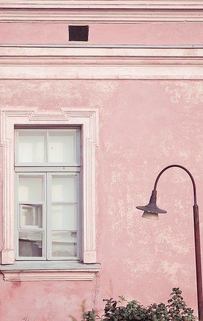 El Rosa Cuarzo Es El Color De 2016 Paredes De Color Rosa Casas Rosadas Vistas