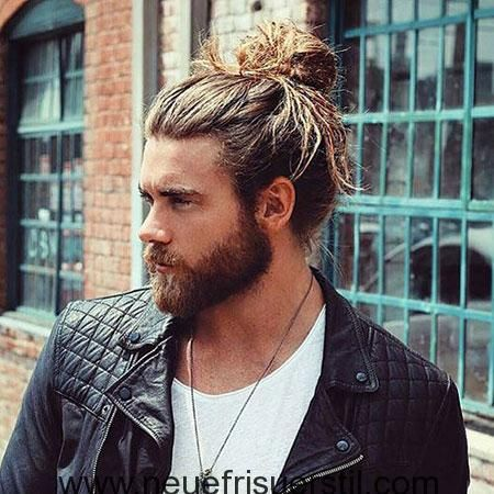28 Neue Manner Long Bun Hair Ideas Lange Haare Manner Herrenfrisuren Frisuren