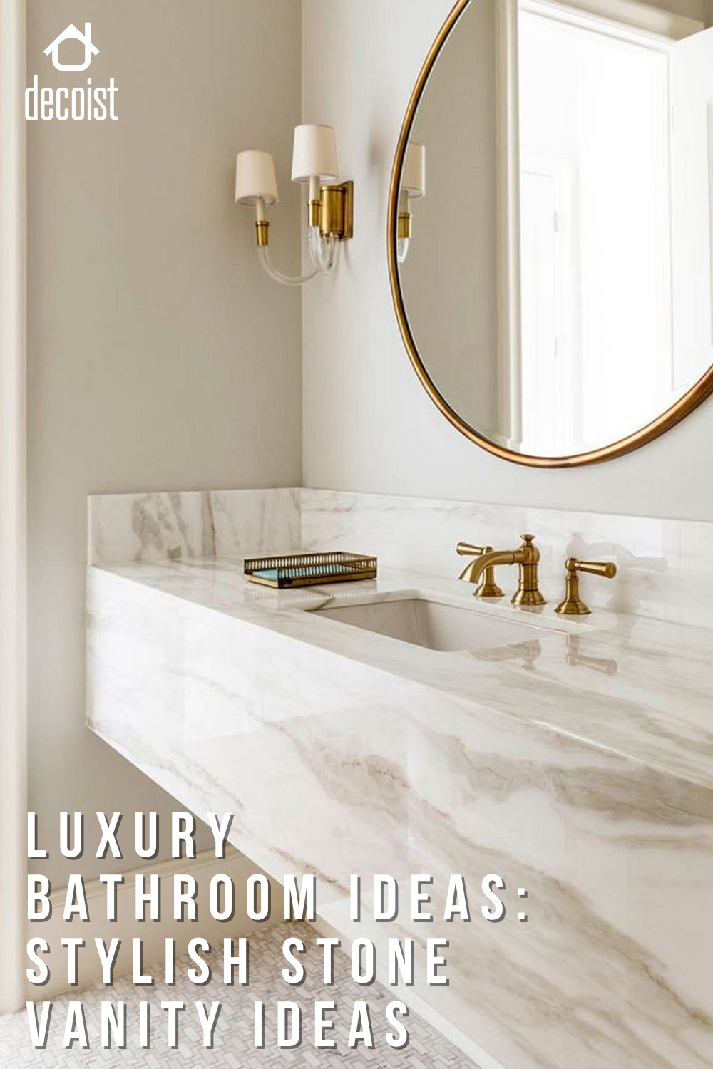 Stylish Stone Vanity Ideas Iconic Trend That Brings Glamour To The Bathroom In 2021 Bathroom Sink Design Marble Bathroom Vanity Bathroom Interior Design