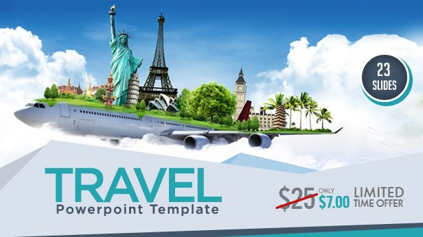 Travel PowerPoint Templates \amp; Backgrounds PowerPoint templates - it powerpoint template