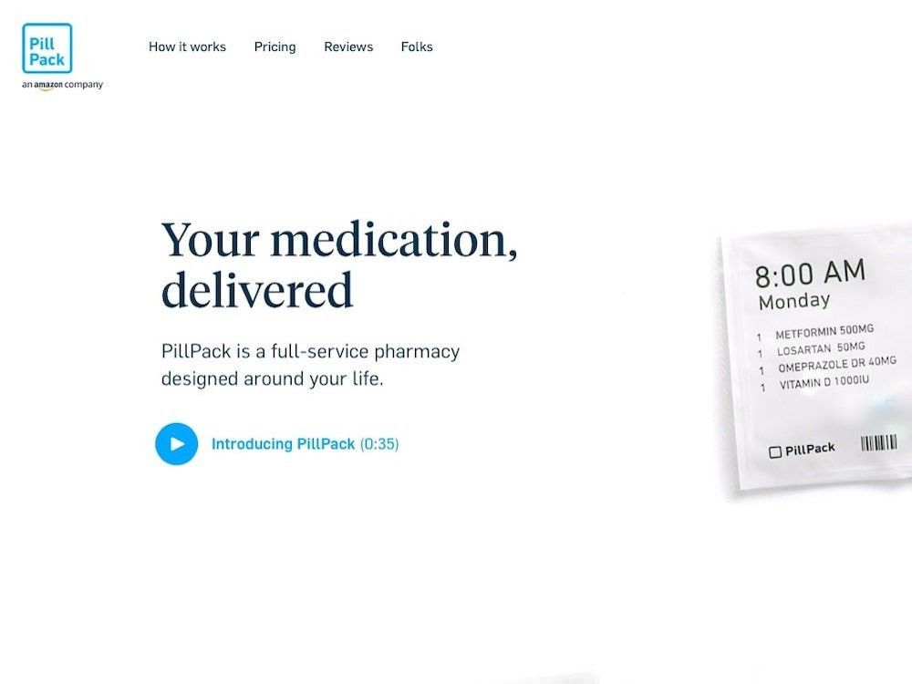 Amazon Can Generate 1 2 Billion In Revenue From Pillpack In 2020