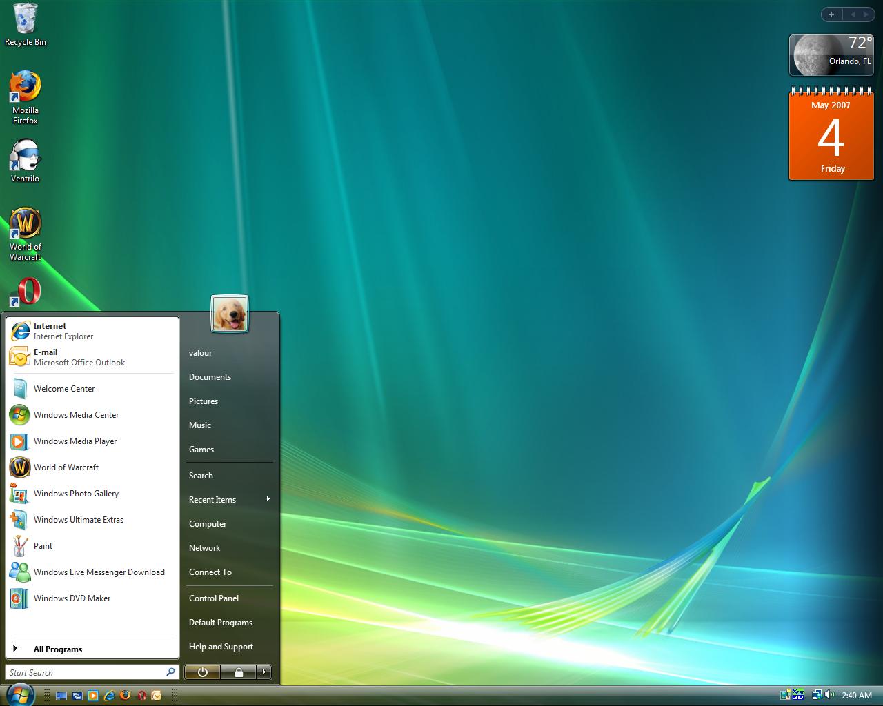 Windows Vista Desktop photos, Picture collage maker