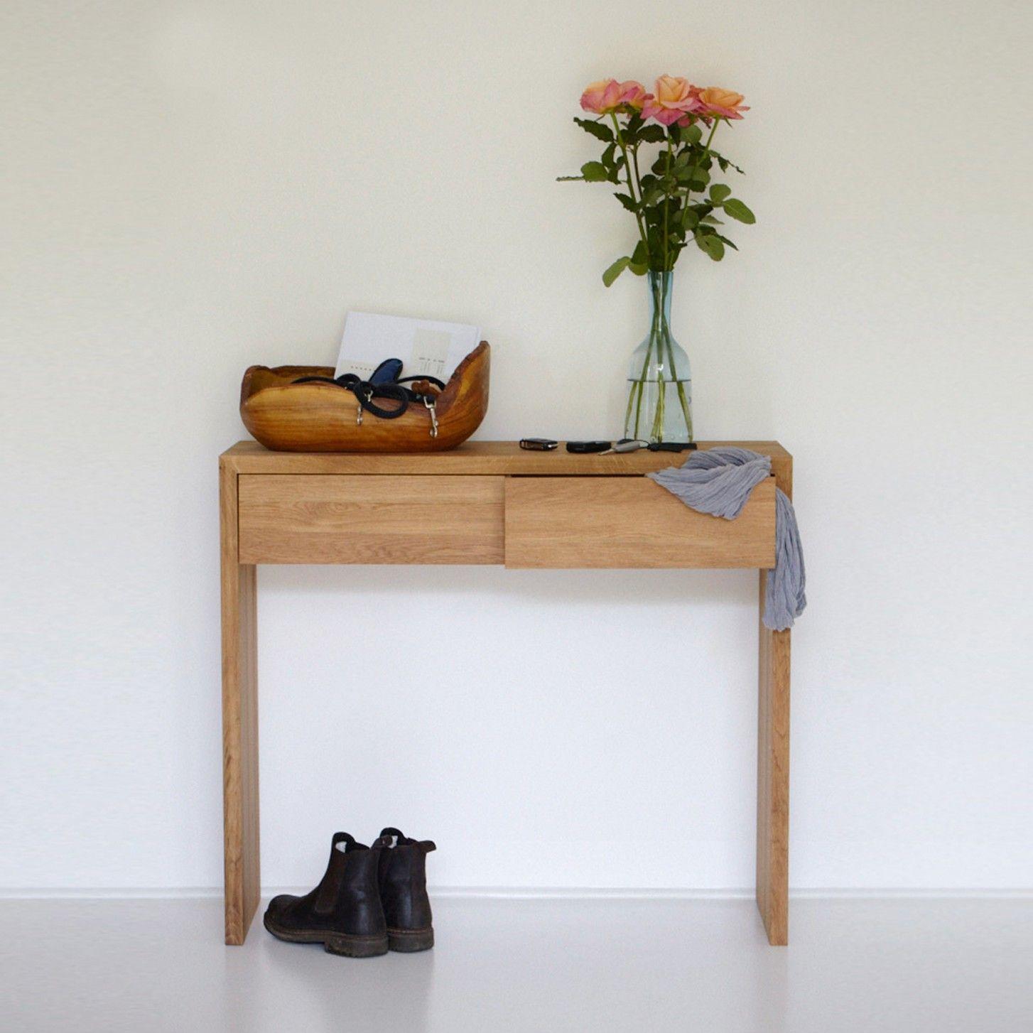 dina konsole mit schubladen von jan kurtz bei. Black Bedroom Furniture Sets. Home Design Ideas