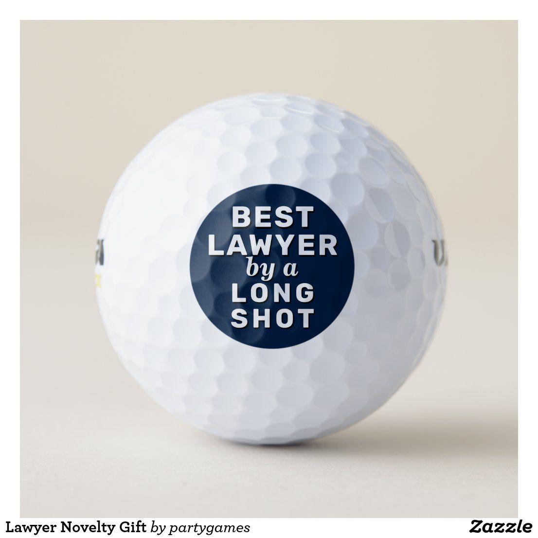 Lawyer Novelty Gift Golf Balls | Zazzle.com | Golf ball, Gifts for dentist,  Golf ball gift