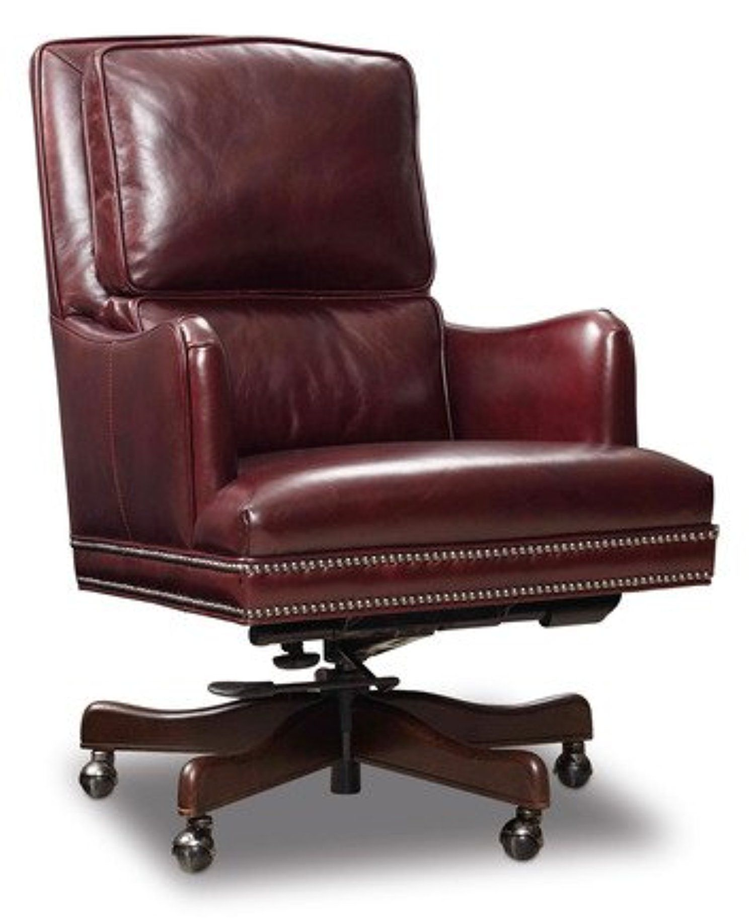 Burgundy Leather Executive Office Chair Ec464 069 Awesome Products Selected By Anna Churchill