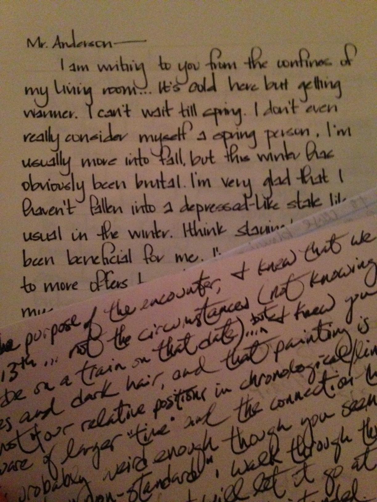 A piece of chalk essay