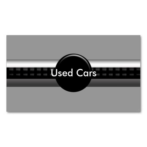 Used cars business card auto sales business cards pinterest used cars business card reheart Choice Image