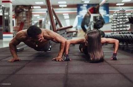 44+ trendy fitness couples parejas gym #fitness