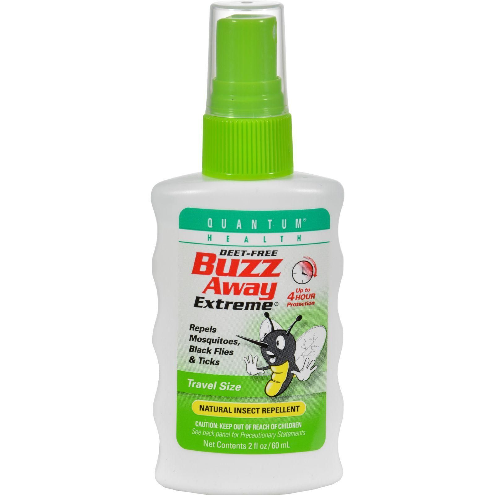 Quantum Buzz Away Extreme Insect Repellent 2 Fl Oz