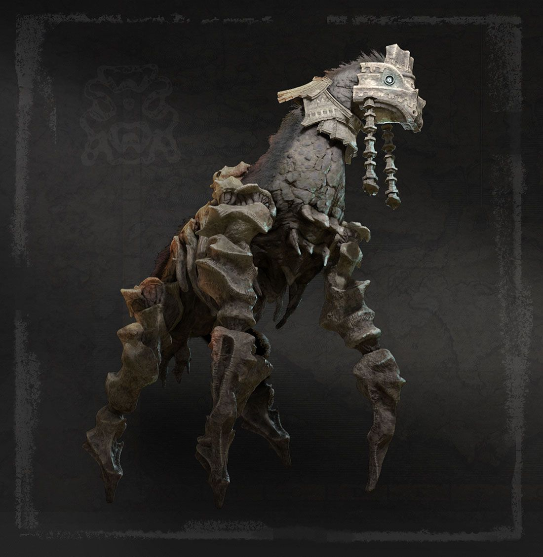Colossus 4 Phaedra From Shadow Of The Colossus 2018 Shadow Of The Colossus Shadow Creatures Colossus