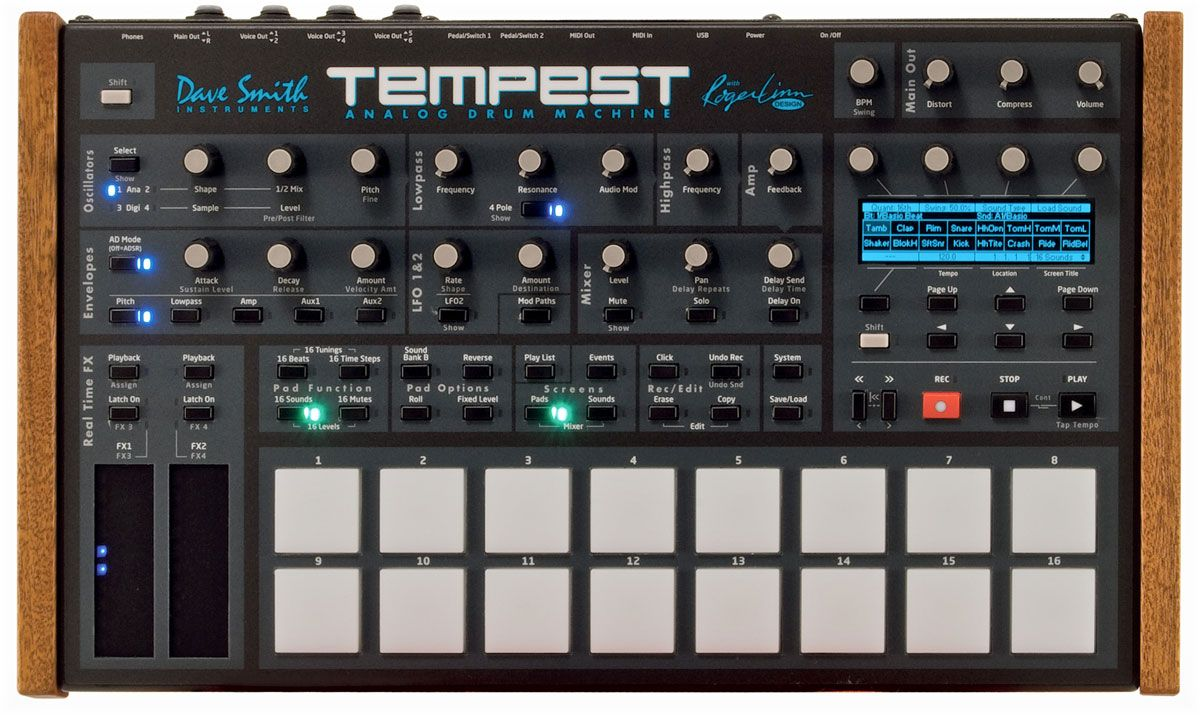 dave smith instruments tempest music in 2019 music machine music recording equipment. Black Bedroom Furniture Sets. Home Design Ideas