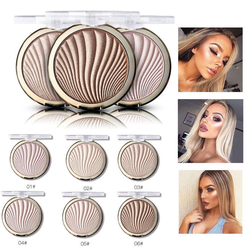 Long Lasting Shell Face Highlighter In 2020 Makeup Base Rose