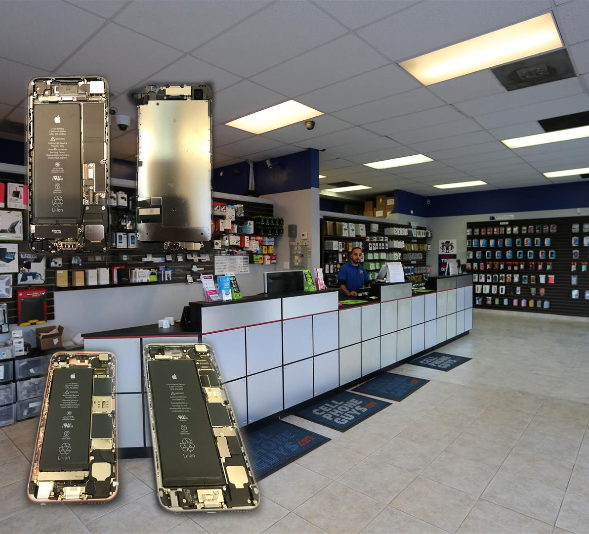Need your phone repaired? Stop by one of our two stores in