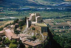 Rocca Malatestiana di Verucchio. Fonte Archivio