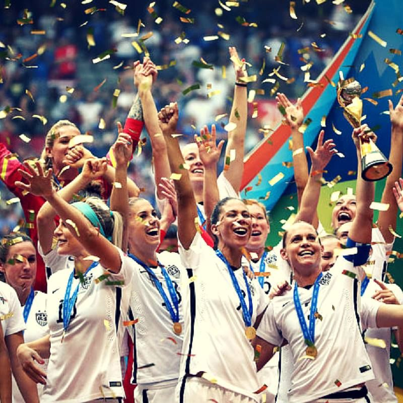 What An Amazing Performance Congratulations To Uswnt World Cup Champions Usa Hardwork Marke Usa Soccer Women Fifa Women S World Cup Women S Soccer Team