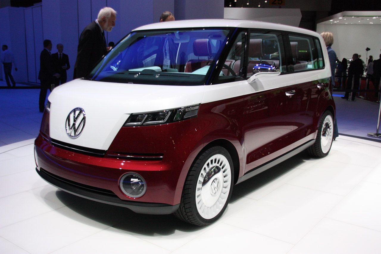 The Vw Bulli Concept I Hope This Becomes A Real Thing Mini Vans Volkswagen Bus Volkswagen