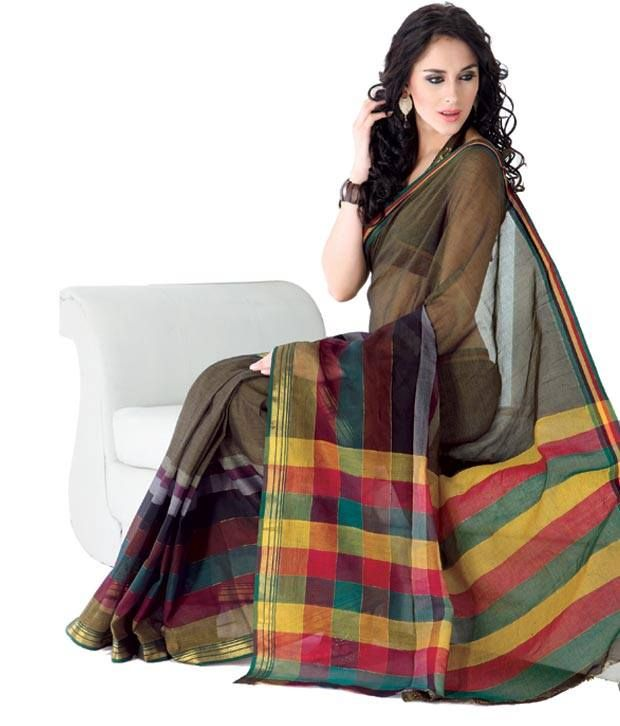 99a3e9c9c6 Cotton # Sarees Collection available at Sri Dhari   Designer ...