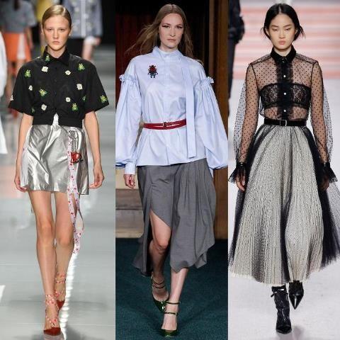 e3a085a8bc7 Стильные блузки 2018 года - Мода и стиль