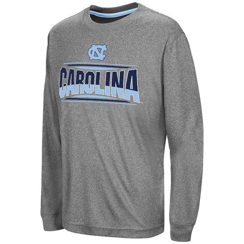Boys 8-20 Campus Heritage North Carolina Tar Heels Banner Tee, Size: Medium, Grey (Charcoal)