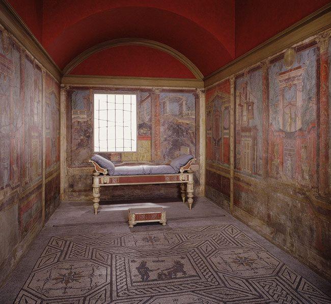 Ancient Roman Cubiculum