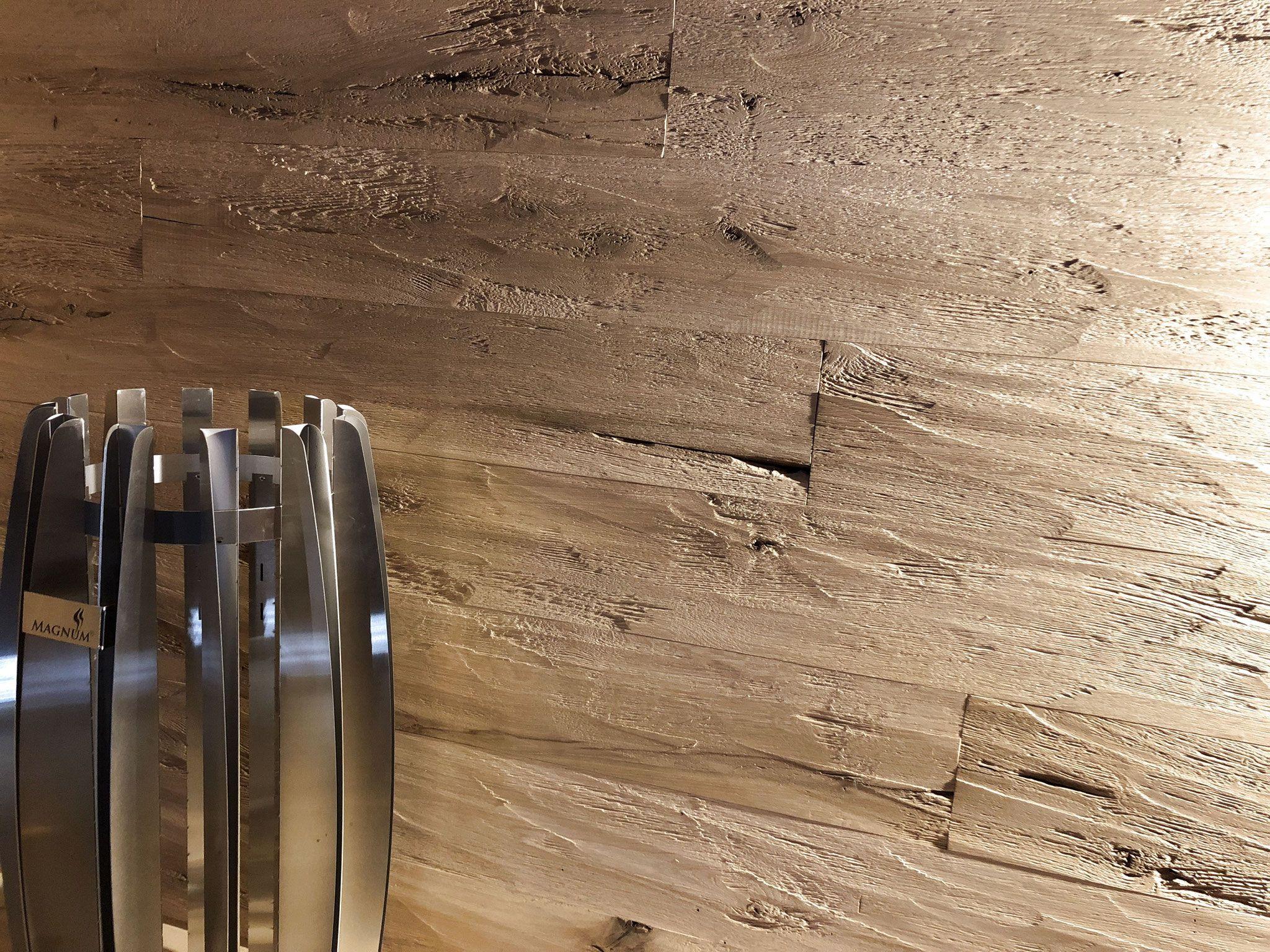 Rustikale Wandverkleidung Eiche Gehackt Geburstet Vintage Holz In 2020 Altholz Wandverkleidung Wandverkleidung Wandpaneele Holz