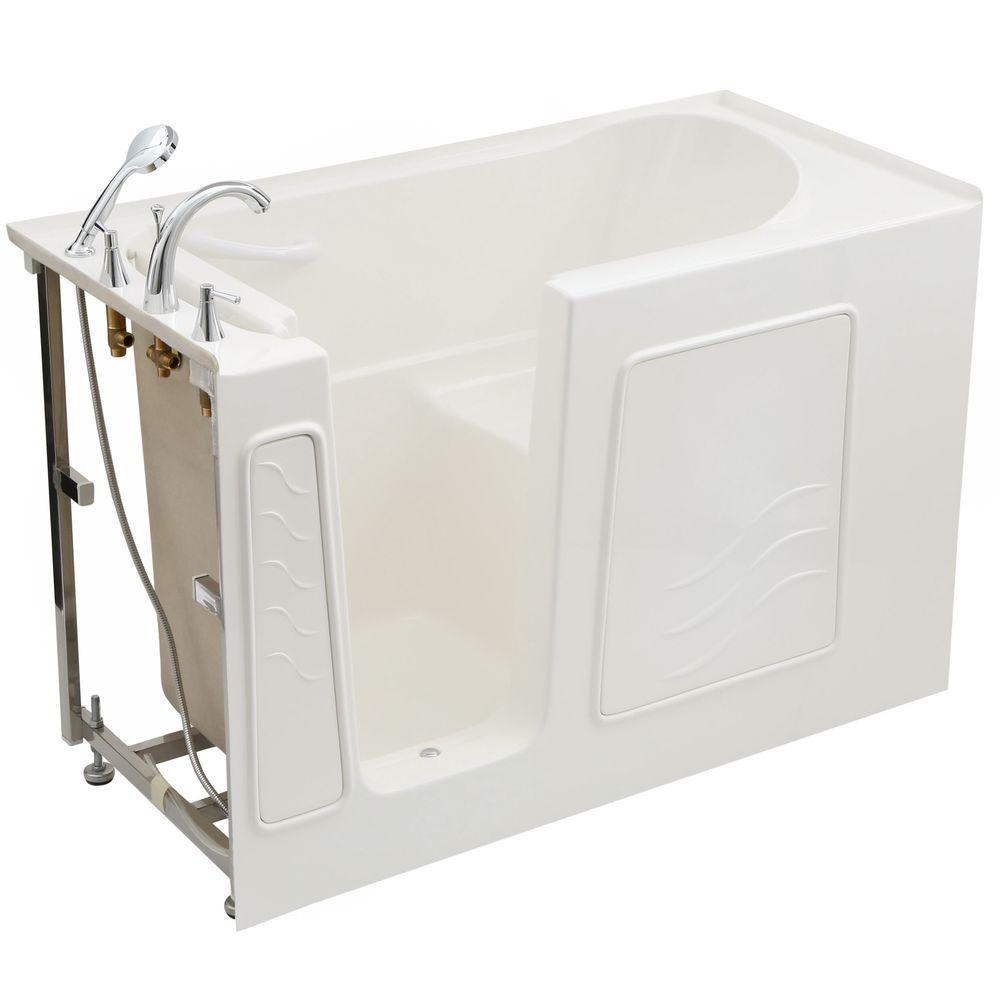 Universal Tubs Builder S Choice 53 In Left Drain Quick Fill Walk