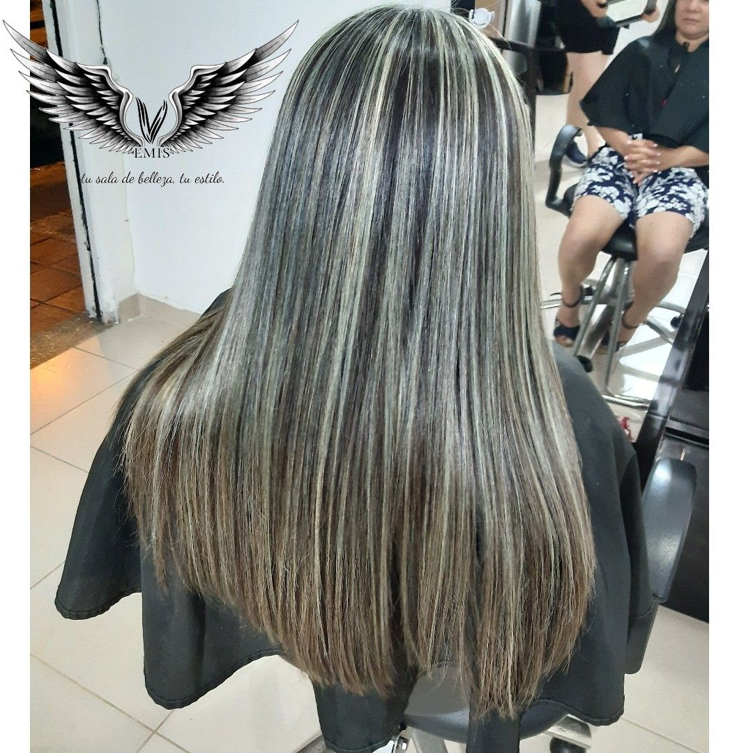 Mechas En Cabello Natural Long Hair Styles Hair Blonde Hair