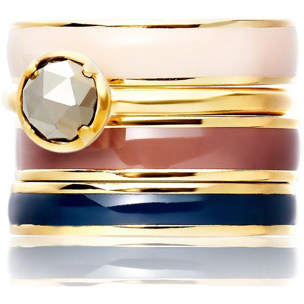 Astley Clarke Color Sonatina Pyrite Ring