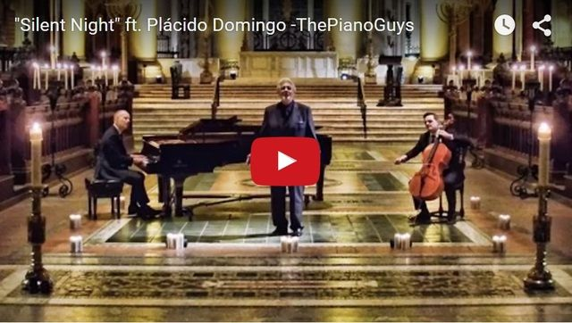 the piano guys play stunning version of silent night in a cathedral