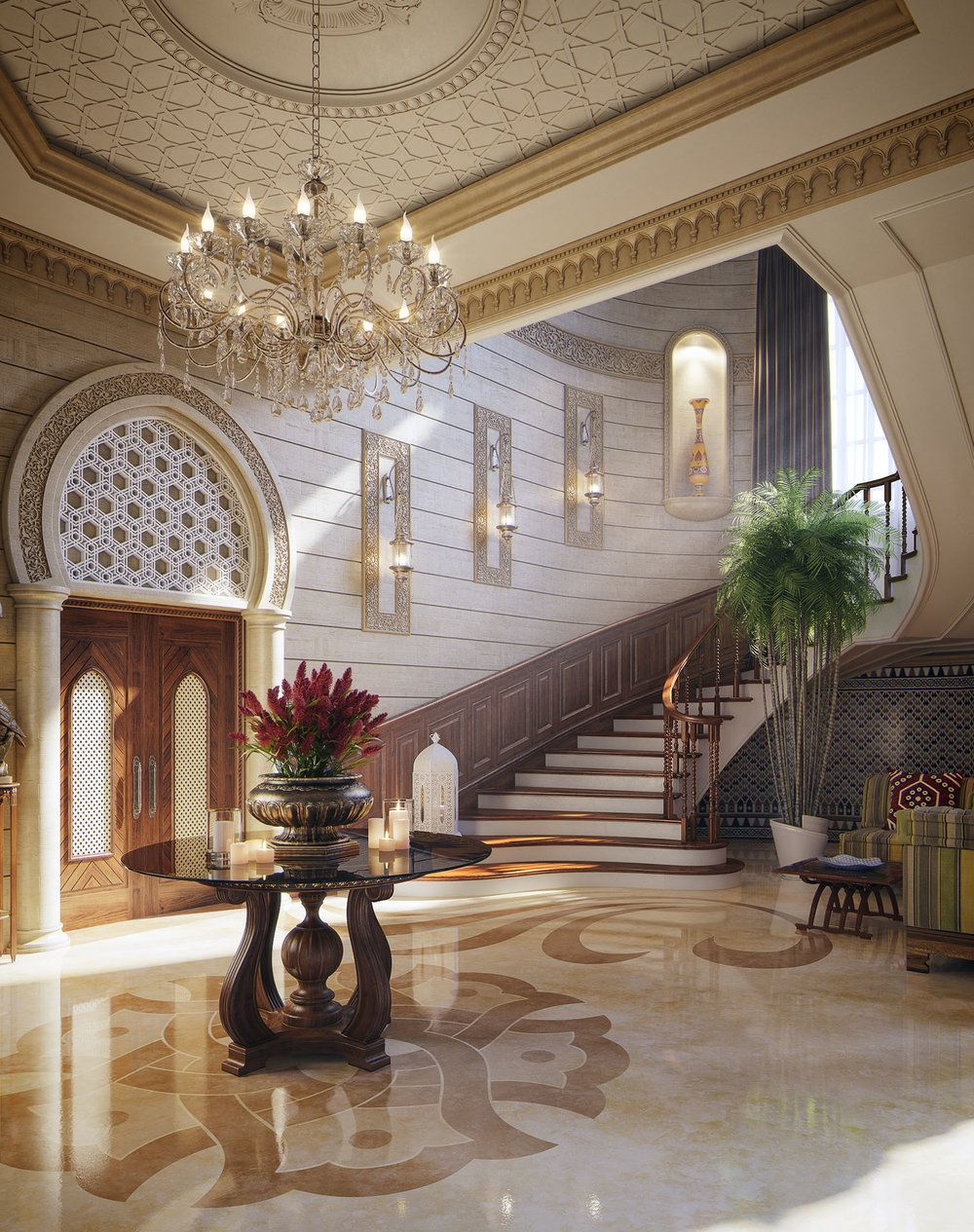 Oriental spaces qatar oriental spaces and ceiling interiors malvernweather Choice Image