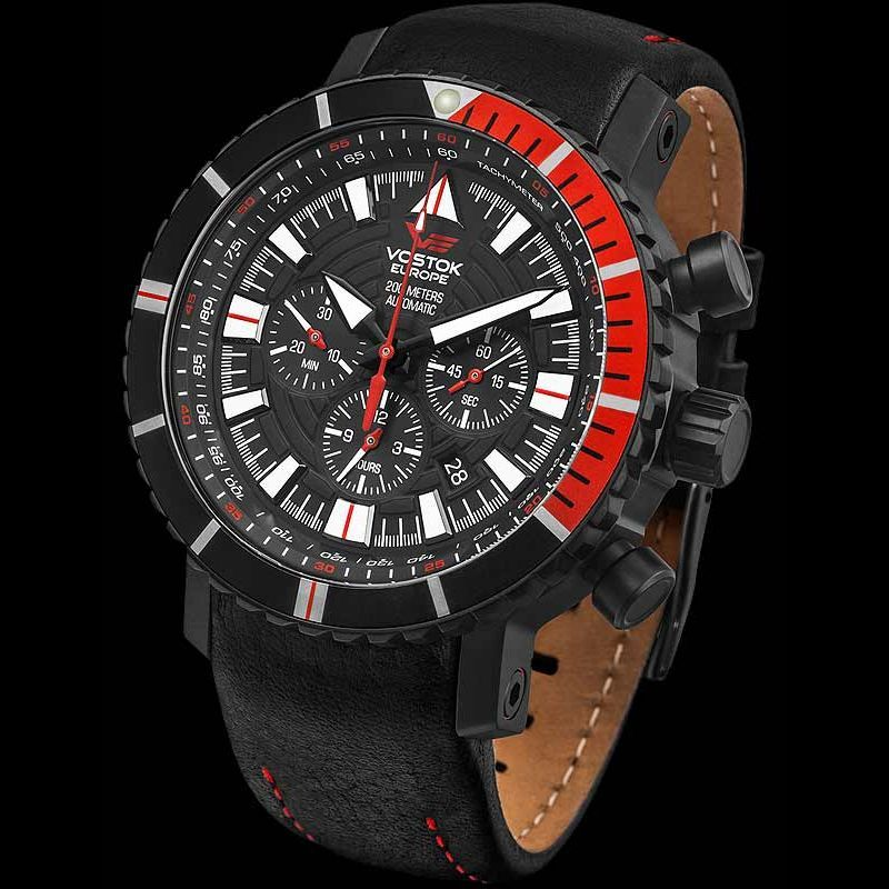 Vostok europe mriya chrono automatic black watches pinterest for Vostok europe watches
