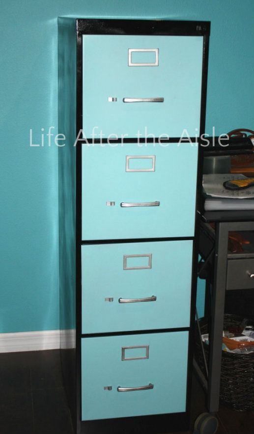 Life After The Aisle Diy Filing Cabinet Redo File Cabinet Redo Filing Cabinet Metal Filing Cabinet