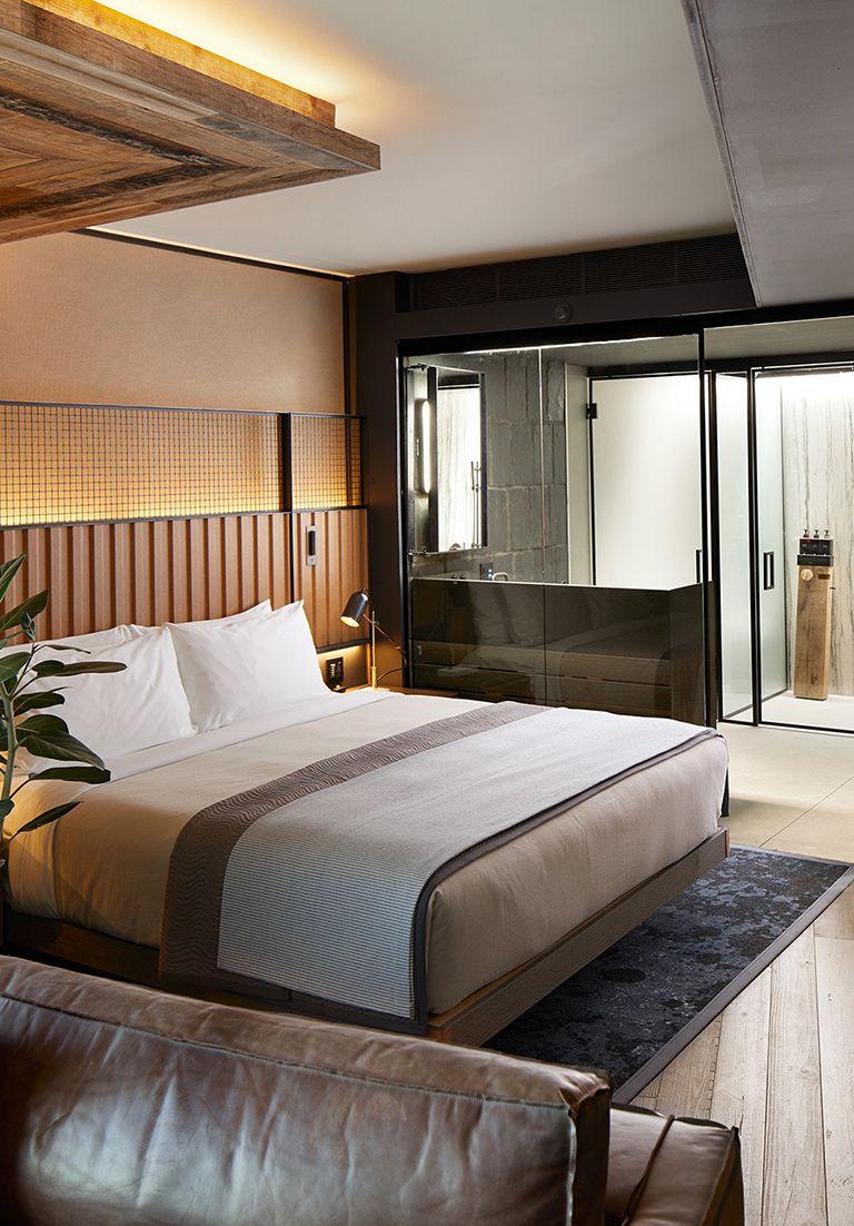 1 Hotel Brooklyn Bridge (Brooklyn, NY Master bedroom